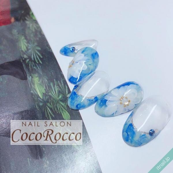 CocoRoccoが投稿したネイルデザイン [photoid:I0083575] via Itnail Design (647787)