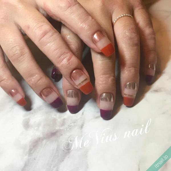 MeVius nailが投稿したネイルデザイン [photoid:I0075747] via Itnail Design (648088)