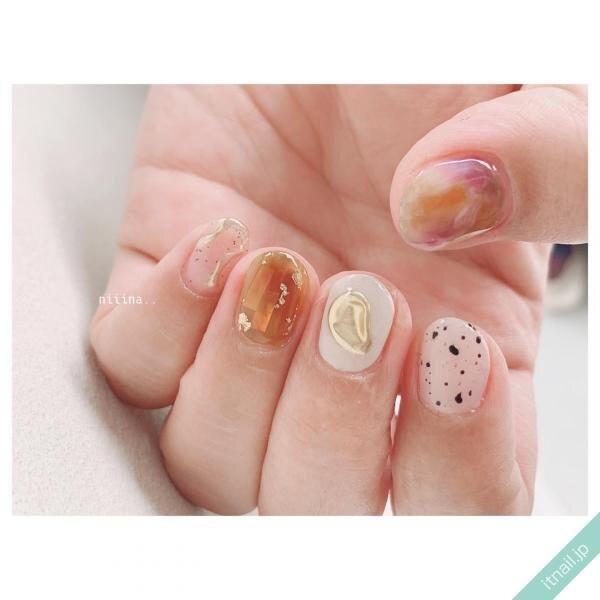 a little salon niiinaが投稿したネイルデザイン [photoid:I0088971] via Itnail Design (648251)