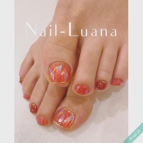 Nail-Luanaが投稿したネイルデザイン [photoid:I0087505] via Itnail Design (648591)