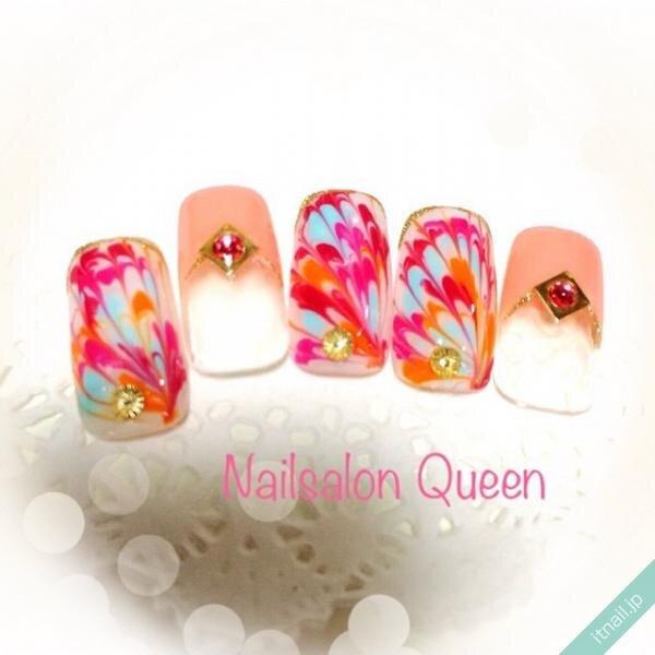 Queenが投稿したネイルデザイン [photoid:I0035554] via Itnail Design (649066)