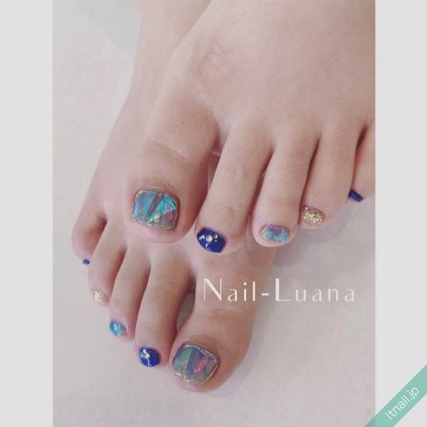 Nail-Luanaが投稿したネイルデザイン [photoid:I0096617] via Itnail Design (649095)