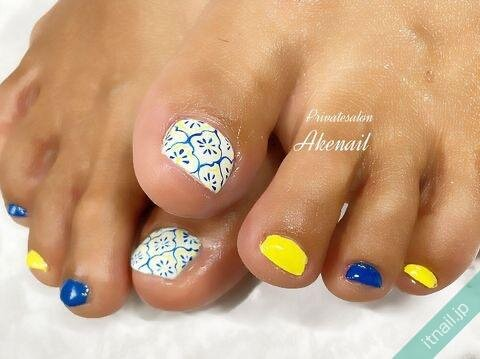 Private salon Ake nailが投稿したネイルデザイン [photoid:I0098954] via Itnail Design (649274)