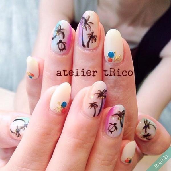 atelier tRicoが投稿したネイルデザイン [photoid:I0032057] via Itnail Design (649532)