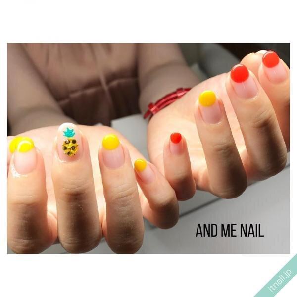 AND ME NAILが投稿したネイルデザイン [photoid:I0072574] via Itnail Design (649621)