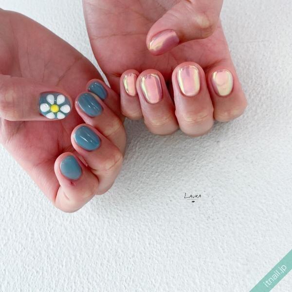 LAURA POMPONNEEが投稿したネイルデザイン [photoid:I0098547] via Itnail Design (649642)