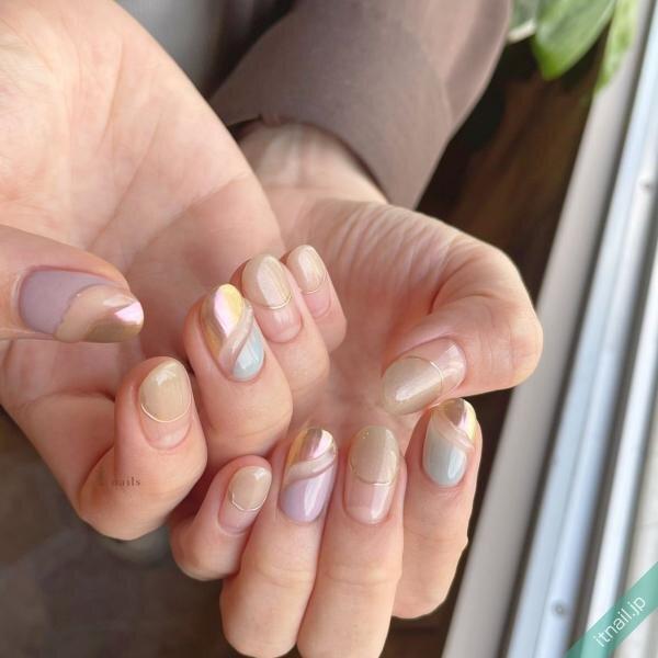 I nailsが投稿したネイルデザイン [photoid:I0099535] via Itnail Design (650378)