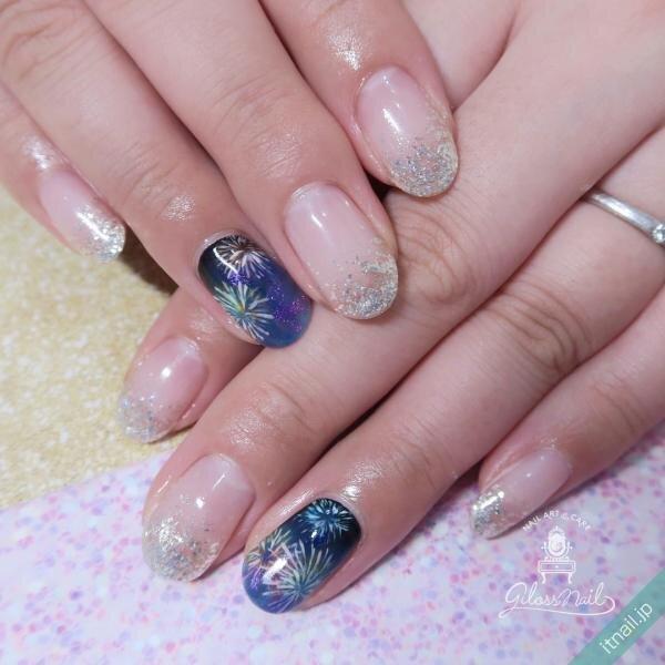 gloss nailが投稿したネイルデザイン [photoid:I0087194] via Itnail Design (650525)
