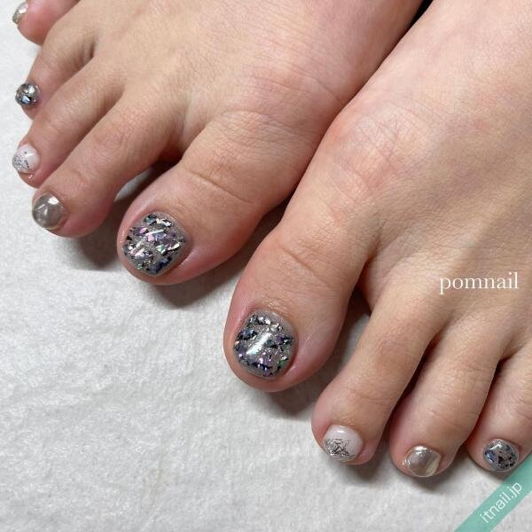 pom nailが投稿したネイルデザイン [photoid:I0098773] via Itnail Design (650905)