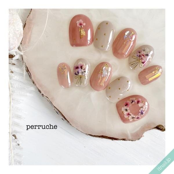 perrucheが投稿したネイルデザイン [photoid:I0099910] via Itnail Design (651007)