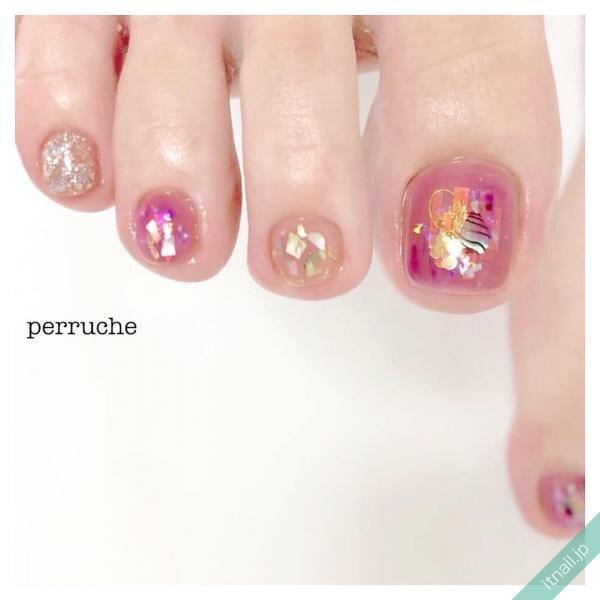 perrucheが投稿したネイルデザイン [photoid:I0099935] via Itnail Design (651155)