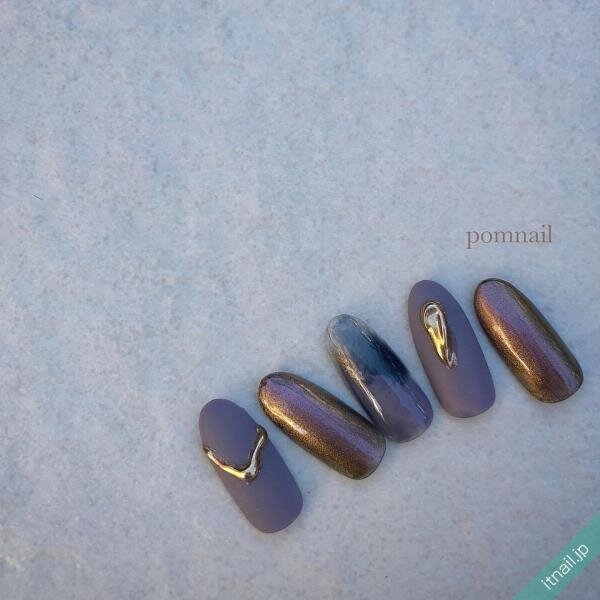 pom nailが投稿したネイルデザイン [photoid:I0091322] via Itnail Design (651170)