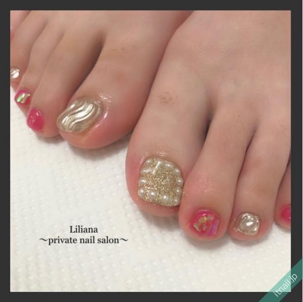 Lilianaが投稿したネイルデザイン [photoid:I0089287] via Itnail Design (651595)