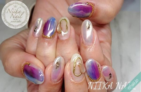 Niika Nailが投稿したネイルデザイン [photoid:I0098230] via Itnail Design (651834)