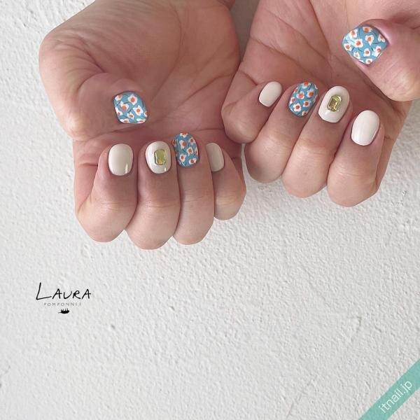 LAURA POMPONNEEが投稿したネイルデザイン [photoid:I0098606] via Itnail Design (651883)