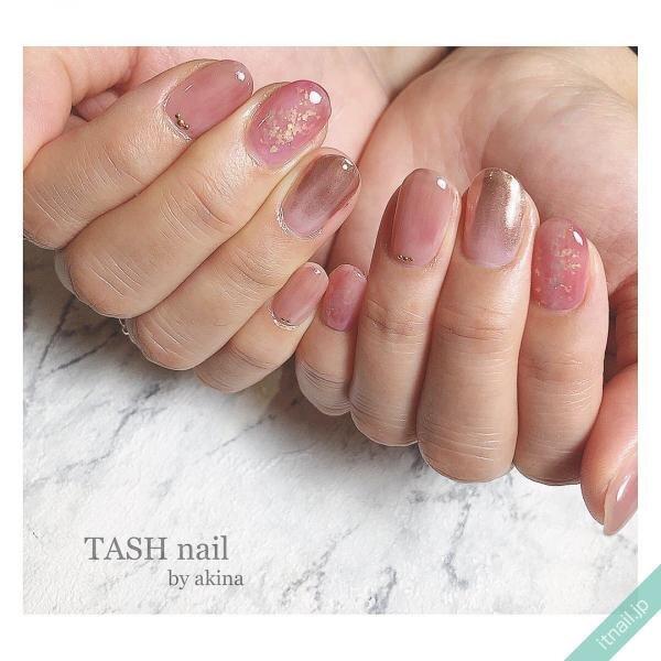 TASHnailが投稿したネイルデザイン [photoid:I0077293] via Itnail Design (652218)