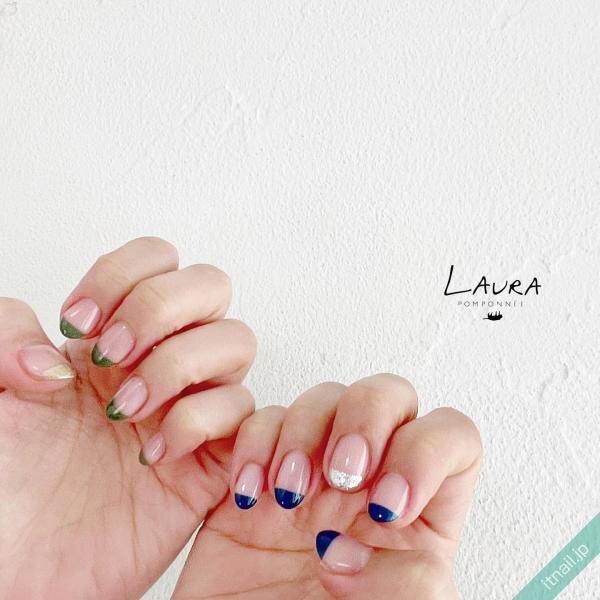 LAURA POMPONNEEが投稿したネイルデザイン [photoid:I0098561] via Itnail Design (652325)