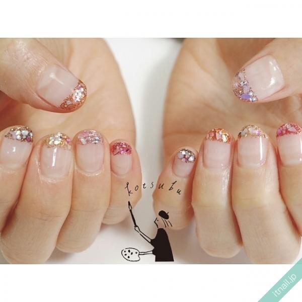 小粒nailが投稿したネイルデザイン [photoid:I0096343] via Itnail Design (653016)