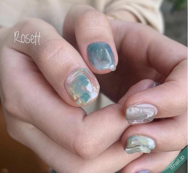 Rosett BY broocHが投稿したネイルデザイン [photoid:I0098419] via Itnail Design (653088)