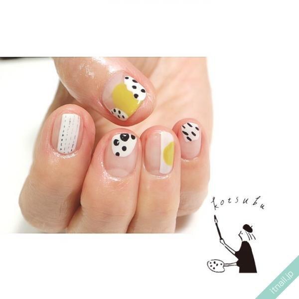 小粒nailが投稿したネイルデザイン [photoid:I0099516] via Itnail Design (653138)