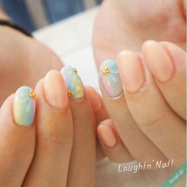 Laughin'Nailが投稿したネイルデザイン [photoid:I0071250] via Itnail Design (653189)