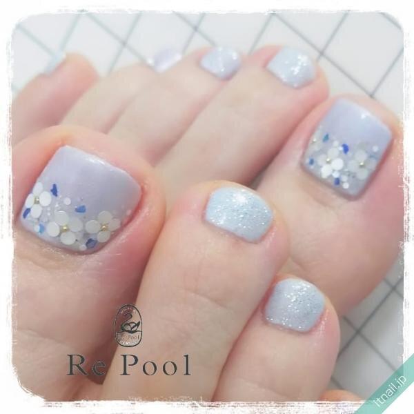 Re Poolが投稿したネイルデザイン [photoid:I0100376] via Itnail Design (653190)