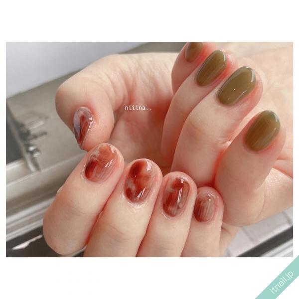 a little salon niiinaが投稿したネイルデザイン [photoid:I0100771] via Itnail Design (653244)
