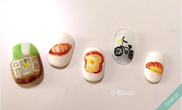 小粒nailが投稿したネイルデザイン [photoid:I0026293] via Itnail Design (653427)