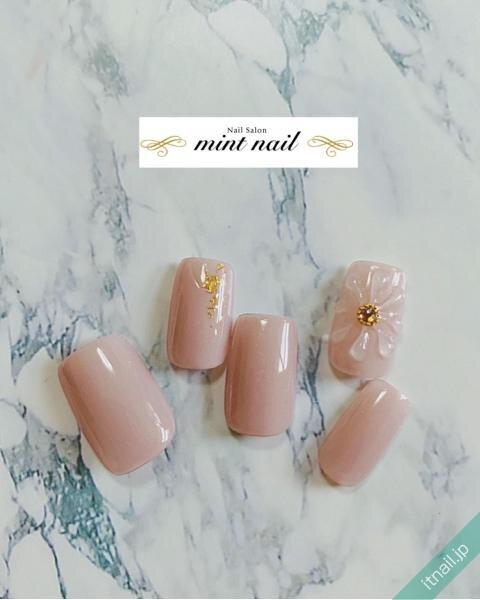 mint nailが投稿したネイルデザイン [photoid:I0101154] via Itnail Design (653445)