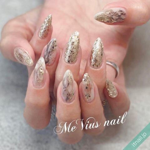 MeVius nailが投稿したネイルデザイン [photoid:I0099712] via Itnail Design (653460)