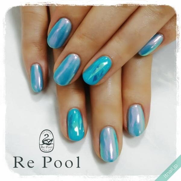 Re Poolが投稿したネイルデザイン [photoid:I0100443] via Itnail Design (653832)
