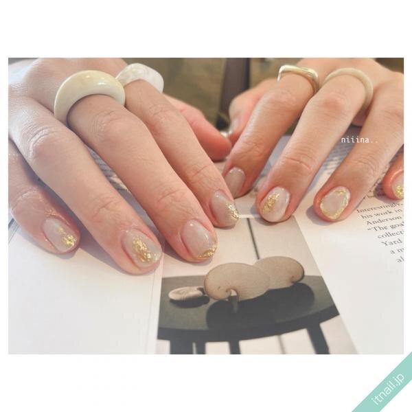a little salon niiinaが投稿したネイルデザイン [photoid:I0100767] via Itnail Design (653878)
