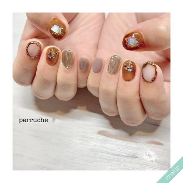 perrucheが投稿したネイルデザイン [photoid:I0080171] via Itnail Design (653931)