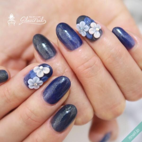 gloss nailが投稿したネイルデザイン [photoid:I0096366] via Itnail Design (654377)