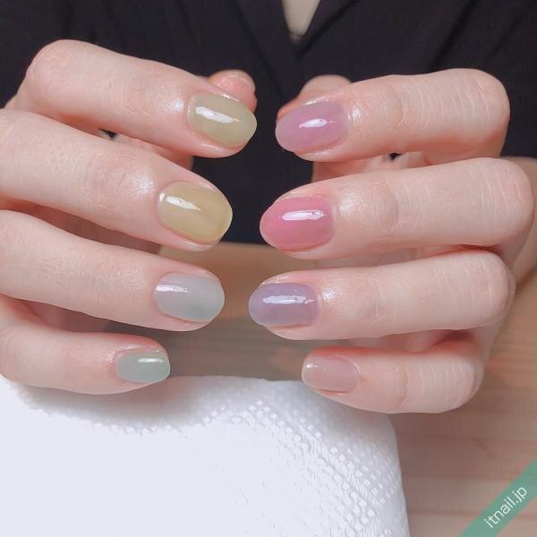 a little salon niiinaが投稿したネイルデザイン [photoid:I0058581] via Itnail Design (654393)