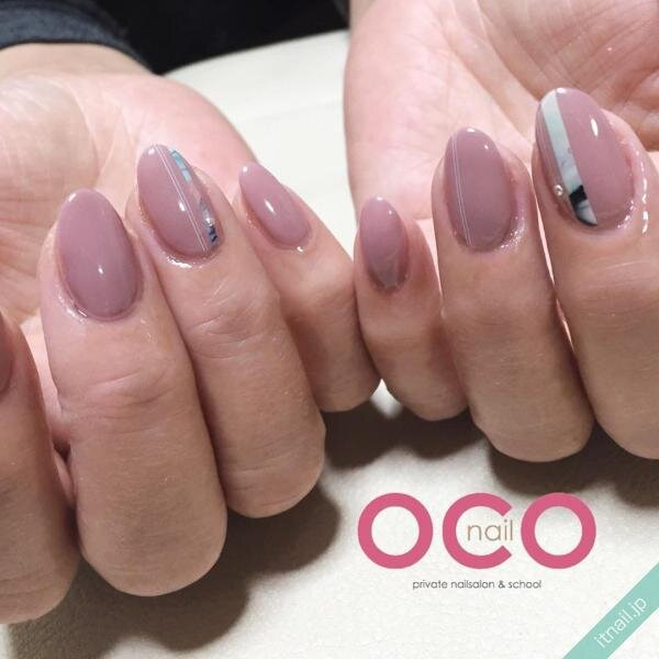 OCO nailが投稿したネイルデザイン [photoid:I0007540] via Itnail Design (654407)