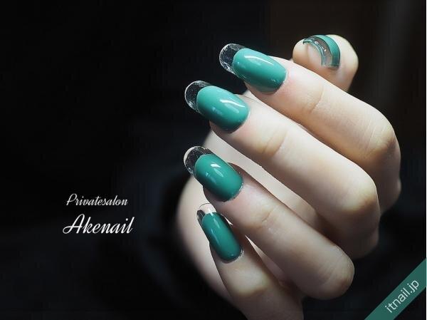 Private salon Ake nailが投稿したネイルデザイン [photoid:I0082784] via Itnail Design (654897)