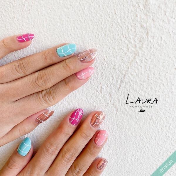 LAURA POMPONNEEが投稿したネイルデザイン [photoid:I0095274] via Itnail Design (654927)