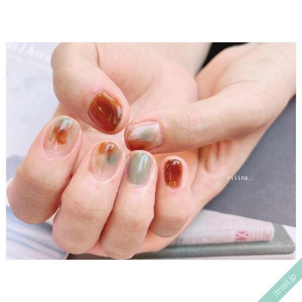 a little salon niiinaが投稿したネイルデザイン [photoid:I0100753] via Itnail Design (655603)