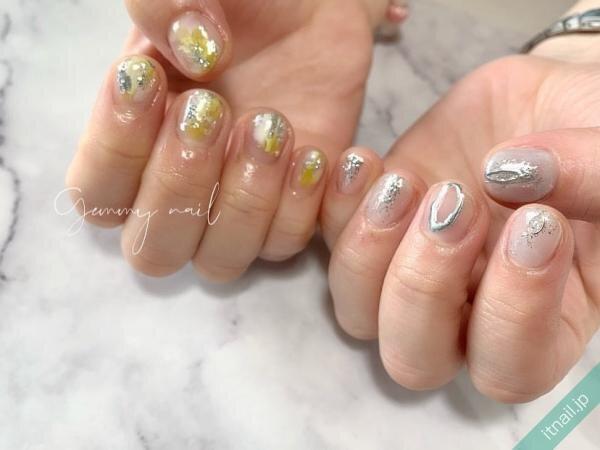 Gemmy nailが投稿したネイルデザイン [photoid:I0082055] via Itnail Design (656541)