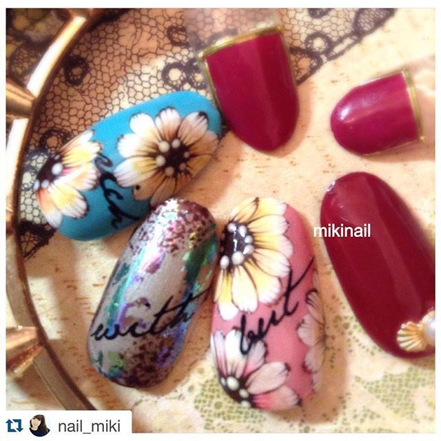 #Repost @nail_miki with @re...