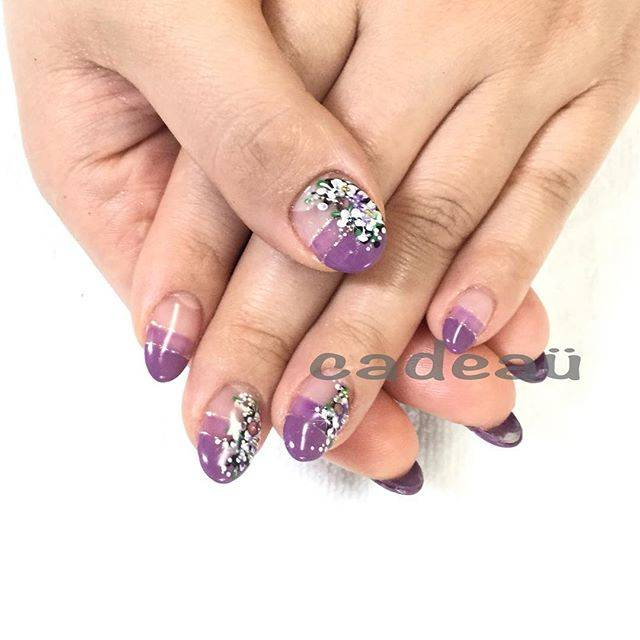 "nailartist.masae on Instagram: ""刺繍アートネイル . 🐞アトリエ カデュウ🐞 営業時間 10:00〜20:00 定休日 木曜 お問い合わせは cadeau.nailsalon@gmail.comまで。  #大森駅 #cadeaü #nails #nailstagram  #gelnails #cute…"" (582076)"