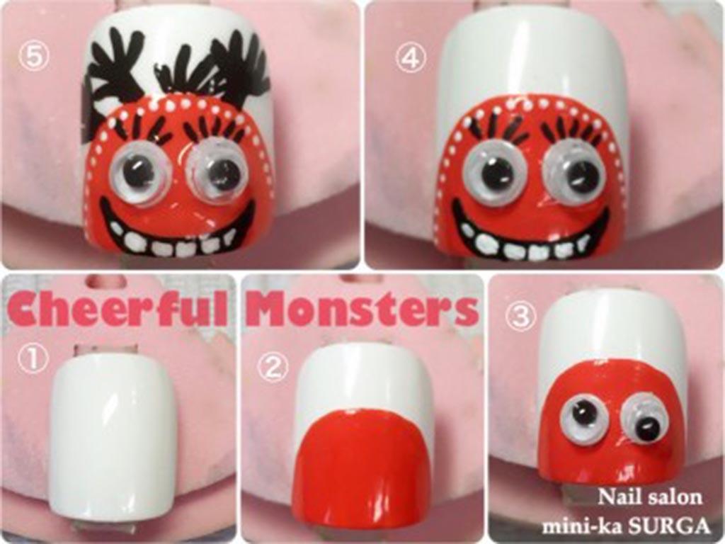 今人気のタッキースタイル「Cheerful Monsters チアフル・モンスターズ」