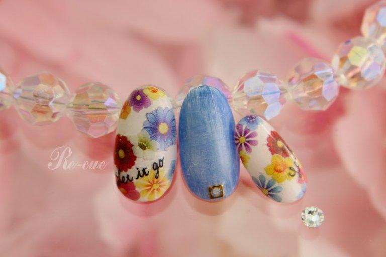 パステルカラー×お花コーデが春にはオススメ