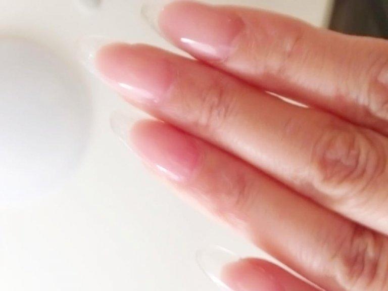自爪と区別がつかないくらい自然な仕上がりに
