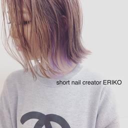 short nail creator ERIKOさんのネイルデザイン特集♡