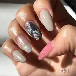 要チェック!『pome nail』のネイルデザインが可愛い♡